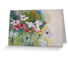 Charm of Cosmos Greeting Card