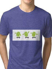ANDROID EXPLORER Tri-blend T-Shirt