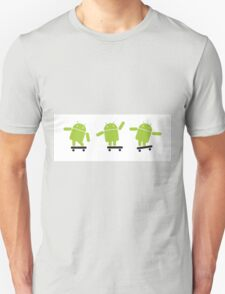 ANDROID EXPLORER Unisex T-Shirt