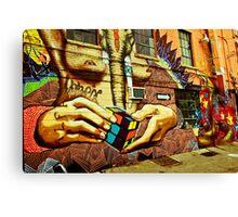 Idol Hands Canvas Print