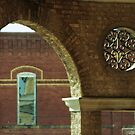 View from Second Floor of Historic Baker Hotel by Susan Russell