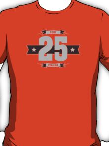 B-day 25 (Light&Darkgrey) T-Shirt