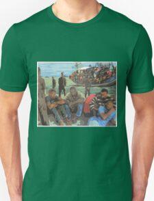 Refugee Boat Unisex T-Shirt