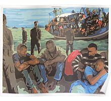 Refugee Boat Poster