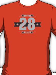 B-day 28 (Light&Darkgrey) T-Shirt