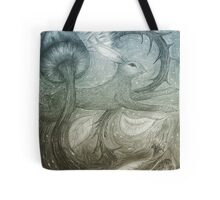 Hare Illustration Tote Bag