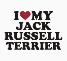 I love my Jack Russell Terrier Kids Clothes