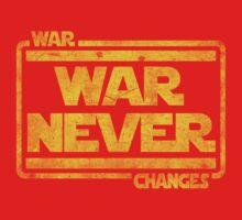 War, War Never Changes Kids Clothes