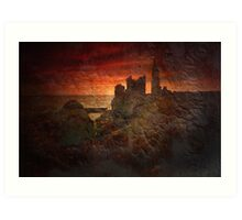 And the memories remain... Caithness, Scotland Art Print