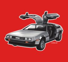 Delorean by GerbArt