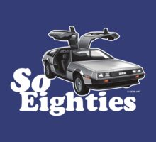 Delorean, So Eighties!! by GerbArt
