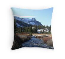 """""""High Sierra Creek"""" Throw Pillow"""