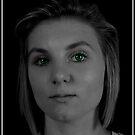Emerald Eyes by Reza G Hassani