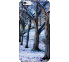 Oh, no! Snow! iPhone Case/Skin