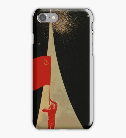 all the way up to the stars  - soviet union propaganda iPhone Case/Skin