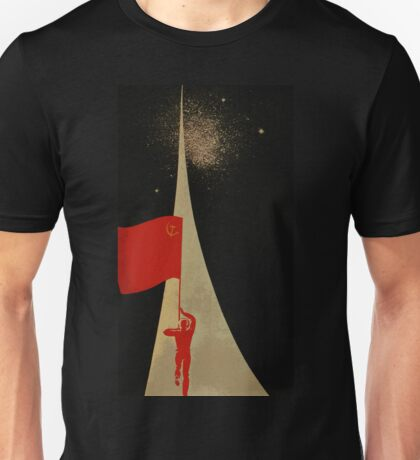 all the way up to the stars  - soviet union propaganda Unisex T-Shirt