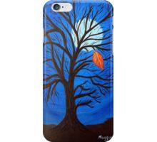 The last leaf iPhone Case/Skin