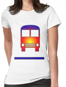 bus Womens Fitted T-Shirt