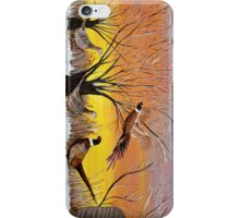 Phesants in the sunsrise  iPhone Case/Skin