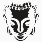 buddah face by Create or Die Designs