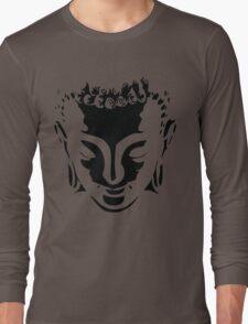 buddah face Long Sleeve T-Shirt
