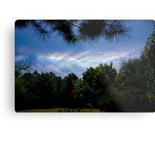 I Do Set My Bow in the Cloud. Metal Print