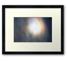 Iridescence 08-30-2009 Framed Print
