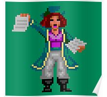 Captain Kate (Monkey Island 2) Poster
