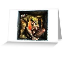 "Ecce Homo 82 "" NATURE VS. NATURE I "" ( Lust vs. Envy ) Greeting Card"