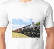 Old Black Steam Engine Unisex T-Shirt