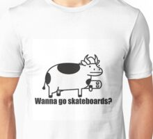 Wanna Go Skateboards? --ASDF MOVIES-- Unisex T-Shirt