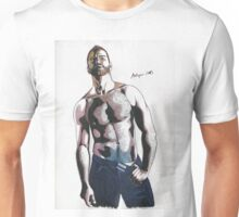 Colored pencil man Unisex T-Shirt