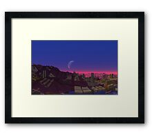 After They Fell Framed Print