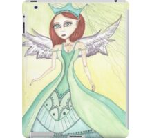 Fantasy big eyes Angel artwork iPad Case/Skin