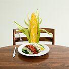 Cob salad by Susan Littlefield