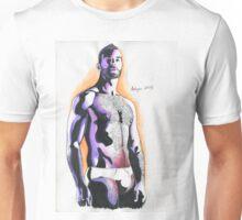 Aquarell man#1 Unisex T-Shirt