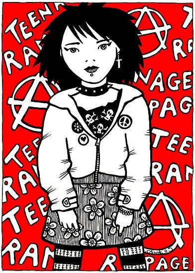 Teenage Rampage by Anita Inverarity