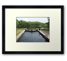 The Songo Lock. Framed Print
