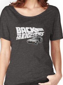 Delorean Back to the Future 80s Style Women's Relaxed Fit T-Shirt