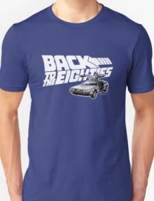 Delorean Back to the Future 80s Style T-Shirt