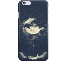 MOON CLIMBING iPhone Case/Skin
