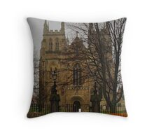 Selby Abbey Throw Pillow