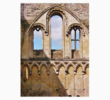 Window in Glastonbury Abbey Unisex T-Shirt