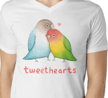Tweethearts Mens V-Neck T-Shirt