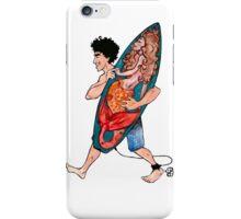 Lucky Surfboard iPhone Case/Skin