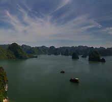 Ha Long panorama by Norman Repacholi