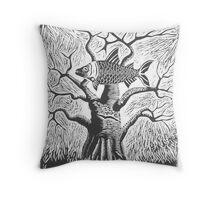 Baobab and Tigerfish Throw Pillow