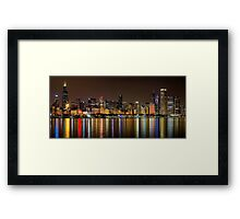 Chicago NFL Skyline Framed Print