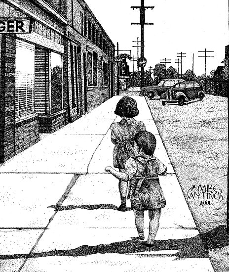 Sisters by Mike Wytinck
