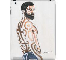 Fine man iPad Case/Skin